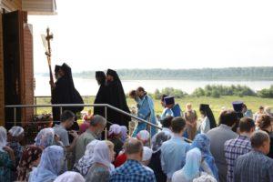 """В """"Тихвинской"""" монашеской общине прошёл престольный праздник обители"""