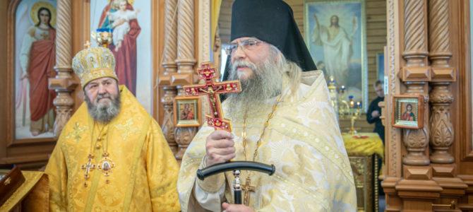 Митр. Викторин возвел иеромонаха Зосиму (Сахипгараева) в игумена Тихвинского мужского монастыря